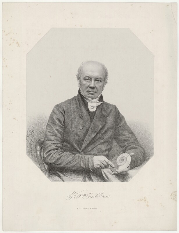 William Buckland, by Thomas Herbert Maguire, 1849 - NPG D32310 - © National Portrait Gallery, London