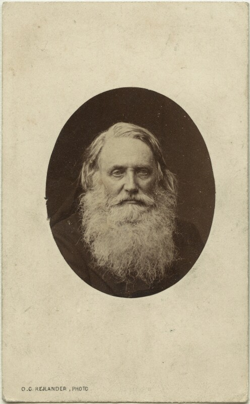 Sir Henry Taylor, by Oscar Gustav Rejlander, 1863 - NPG x12982 - © National Portrait Gallery, London