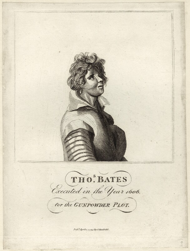 Thomas Bates, by Adam, published by  James Caulfield, published 1 April 1794 - NPG D28151 - © National Portrait Gallery, London