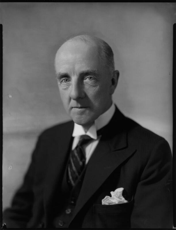 Sir Harold Spencer Morris, by Bassano Ltd, 28 July 1936 - NPG x152307 - © National Portrait Gallery, London