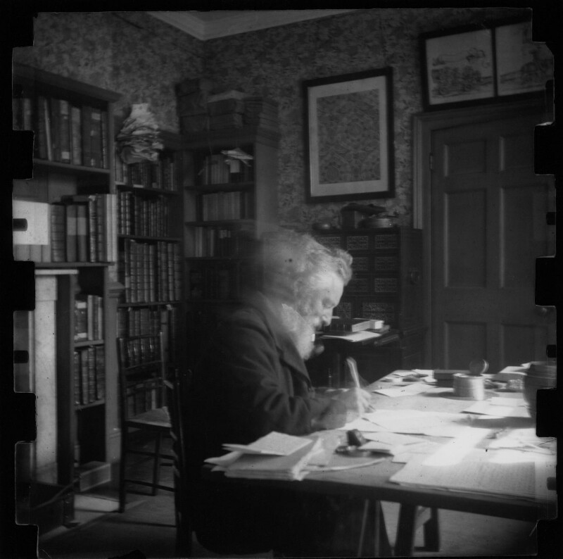 William Morris, by Henry Halliday Sparling, early 1890s - NPG x19621 - © National Portrait Gallery, London