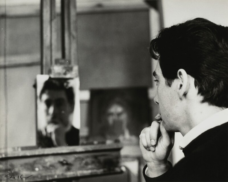 David Tindle, by Ida Kar, 1960s - NPG x131259 - © National Portrait Gallery, London