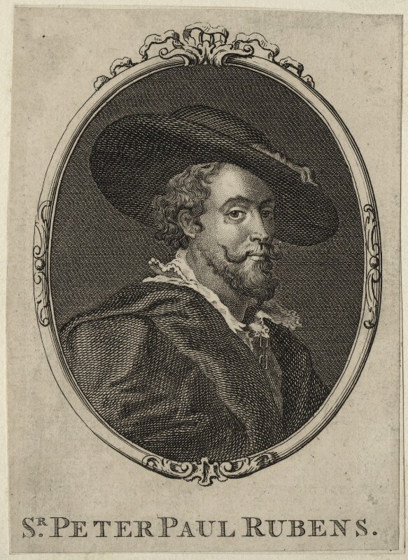 Sir Peter Paul Rubens, after Sir Peter Paul Rubens, mid to late 18th century - NPG D28250 - © National Portrait Gallery, London