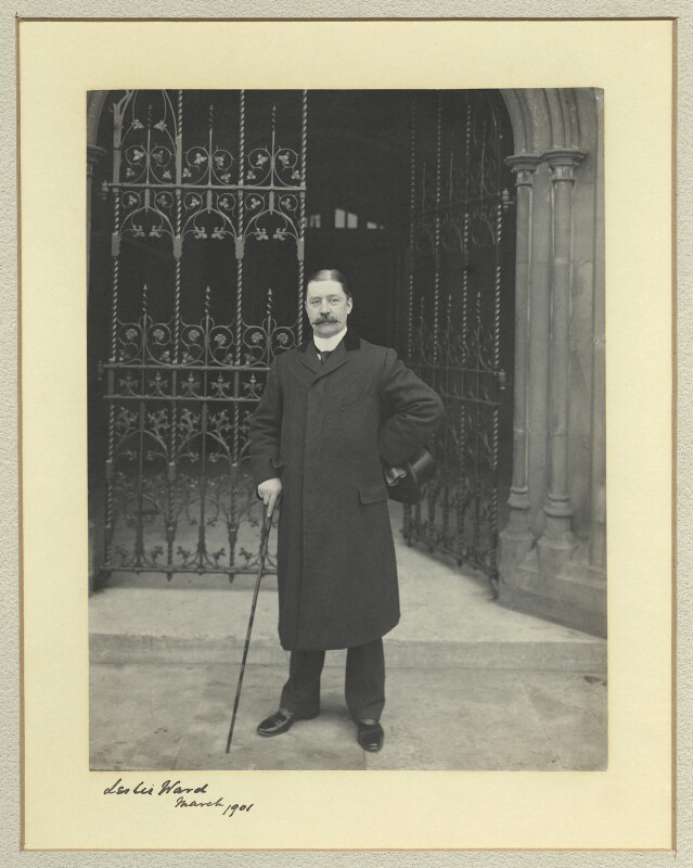 Sir Leslie Ward, by Benjamin Stone, March 1901 - NPG x45005 - © National Portrait Gallery, London