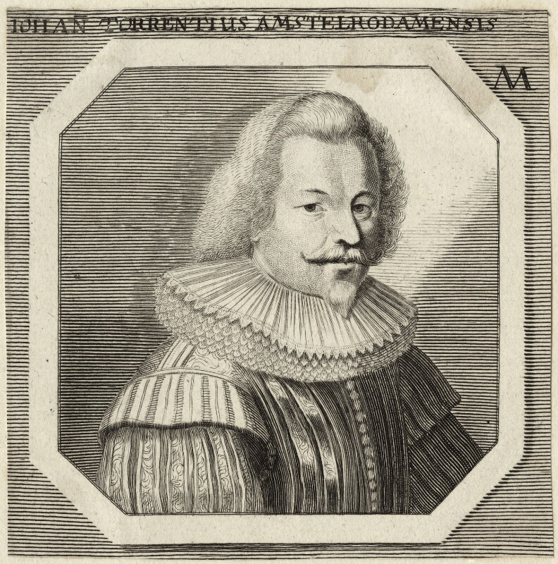 Jan Simonsz. Torrentius (called Van der Beeck), after Unknown artist, possibly late 17th century - NPG D28319 - © National Portrait Gallery, London