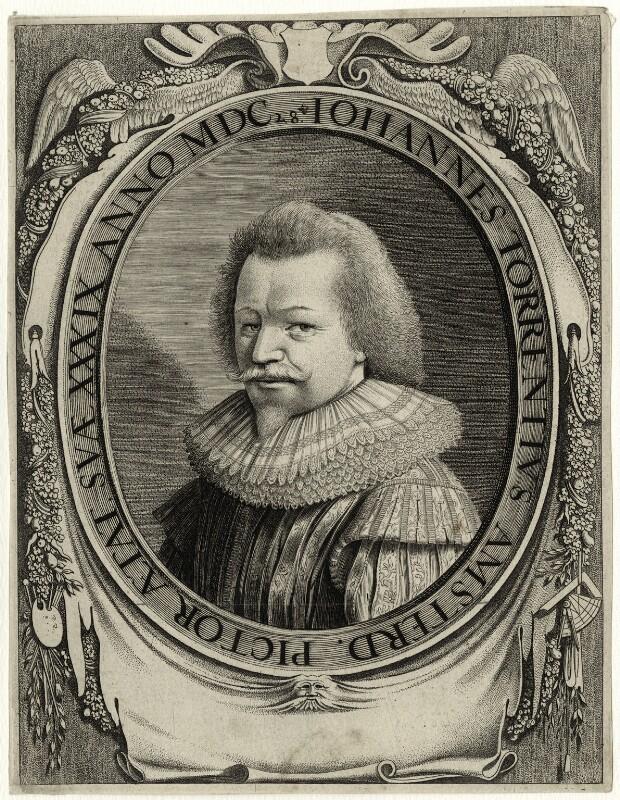 Jan Simonsz. Torrentius (called Van der Beeck), after Unknown artist, early 17th century - NPG D28321 - © National Portrait Gallery, London