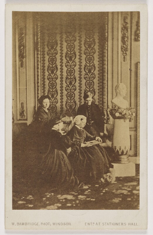 Royal mourning group, 1862, by William Bambridge, March 1862 - NPG x131271 - © National Portrait Gallery, London
