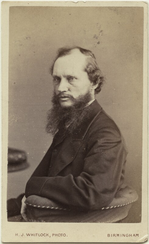 William Thomson, Baron Kelvin, by Henry Joseph Whitlock, circa 1870 - NPG Ax18340 - © National Portrait Gallery, London