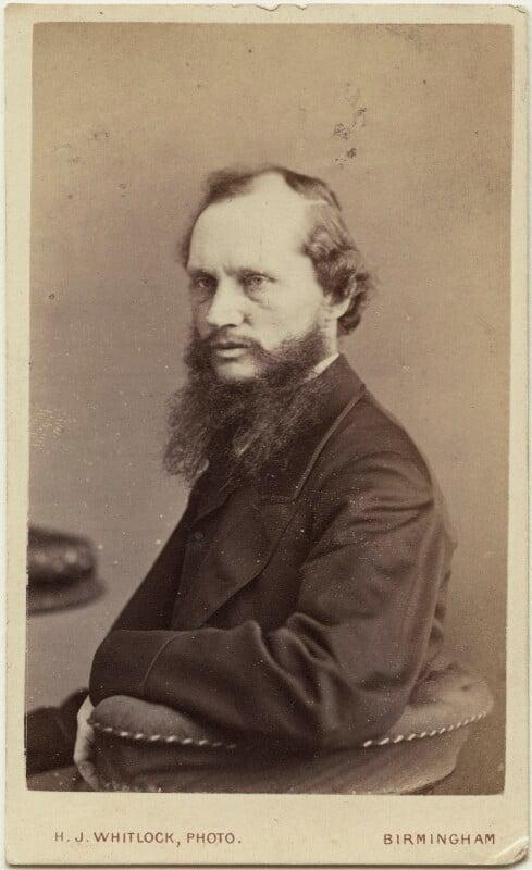 William Thomson, Baron Kelvin, by Henry Joseph Whitlock, circa 1870 - NPG Ax18340 - © National Portrait Gallery, London