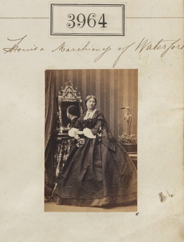 Louisa Anne Beresford, by Camille Silvy, 27 May 1861 - NPG Ax53979 - © National Portrait Gallery, London
