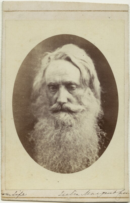 Sir Henry Taylor, by Julia Margaret Cameron, 1865 - NPG x18077 - © National Portrait Gallery, London