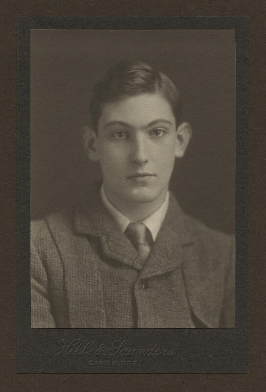 George Leigh Mallory, by Hills & Saunders, circa 1912 - NPG x29129 - © National Portrait Gallery, London
