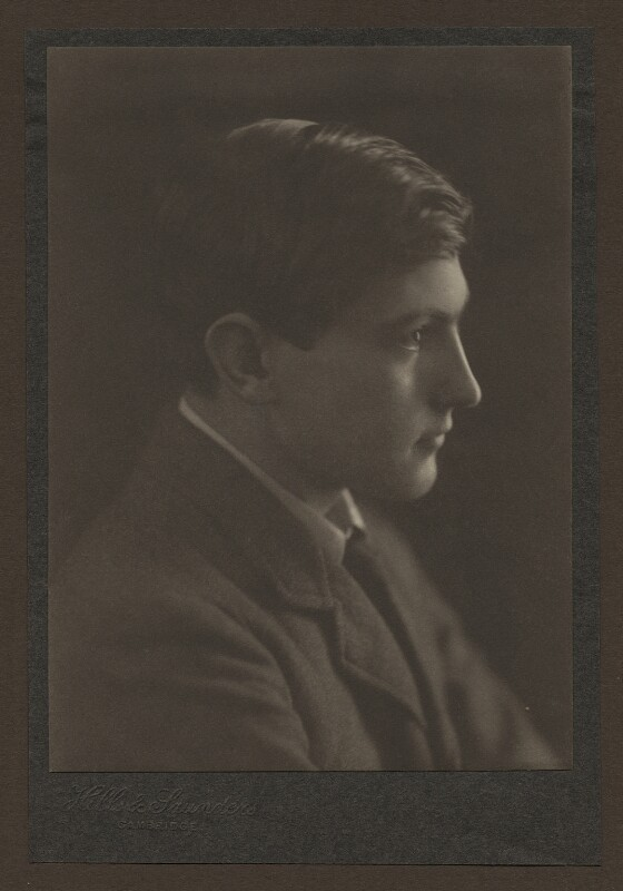 George Leigh Mallory, by Hills & Saunders, circa 1912 - NPG x131272 - © National Portrait Gallery, London