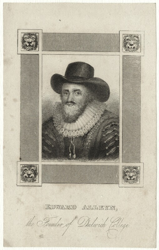 Edward Alleyn, after Unknown artist, early 19th century - NPG D28386 - © National Portrait Gallery, London