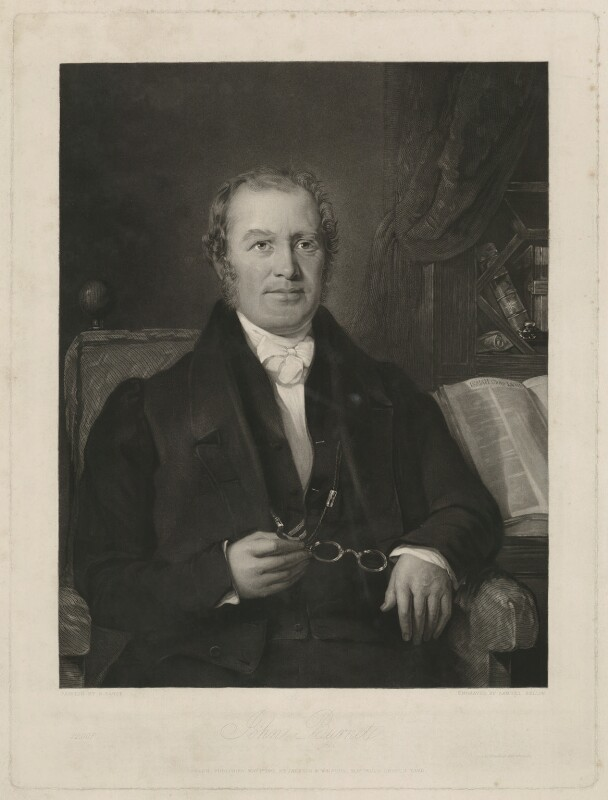 John Burnet, by Samuel Bellin, after  George Lance, published 1841 - NPG D32428 - © National Portrait Gallery, London