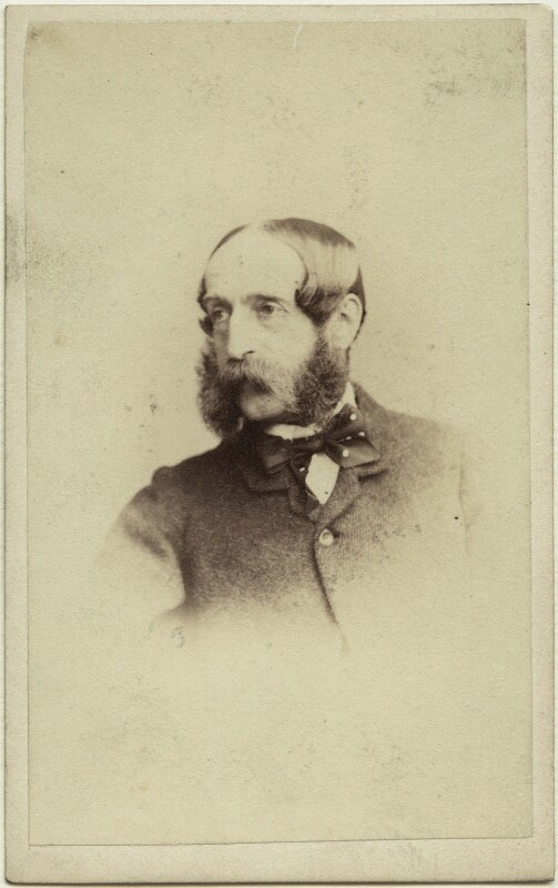 George John Whyte-Melville, by Thomas Rodger, 1860s - NPG x27378 - © National Portrait Gallery, London