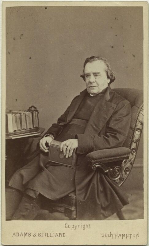 Samuel Wilberforce, by Adams & Stilliard, 1873 - NPG x27387 - © National Portrait Gallery, London