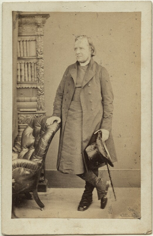 Samuel Wilberforce, by William Edward Kilburn, late 1850s-early 1860s - NPG x27390 - © National Portrait Gallery, London