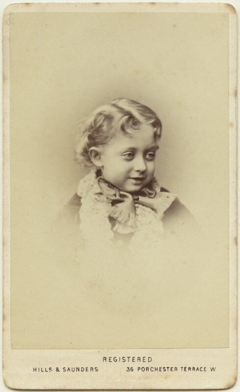 Maud, Queen of Norway, by Hills & Saunders, circa 1871 - NPG Ax46178 - © National Portrait Gallery, London