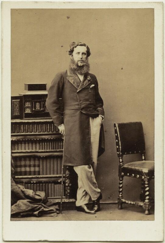 Henry Pelham Alexander Pelham-Clinton, 6th Duke of Newcastle-under-Lyne, by Camille Silvy, 22 July 1861 - NPG Ax7415 - © National Portrait Gallery, London