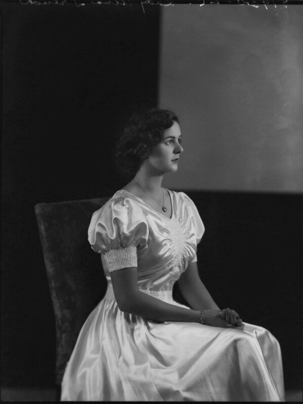 Lady (Sibell) Alma Kathleen Jolly (née Le-Poer-Trench), by Bassano Ltd, 26 October 1936 - NPG x152416 - © National Portrait Gallery, London