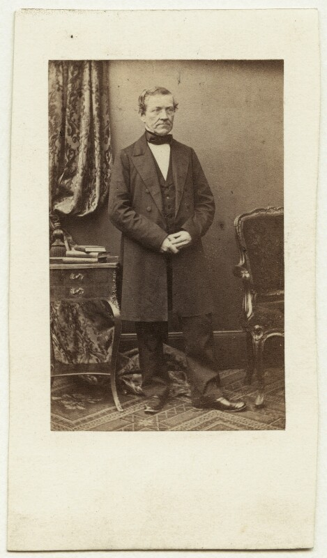 Sir Charles Wheatstone, by Antoine Claudet, early-mid 1860s - NPG x32952 - © National Portrait Gallery, London