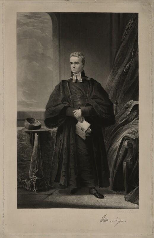 William Ainger, by Samuel William Reynolds, after  James Lonsdale, published 1845 - NPG D7068 - © National Portrait Gallery, London