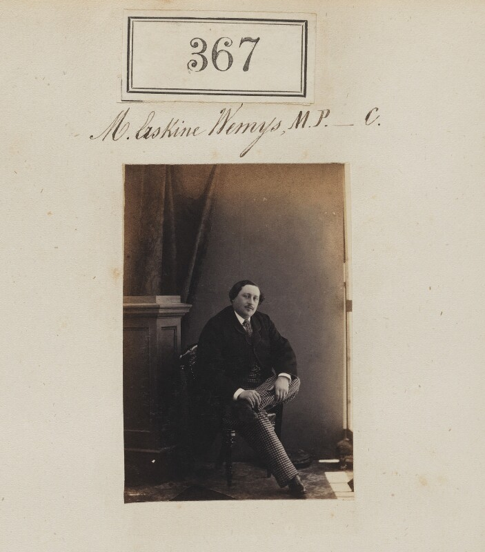 James Hay Erskine Wemyss, by Camille Silvy, 1860 - NPG Ax50129 - © National Portrait Gallery, London