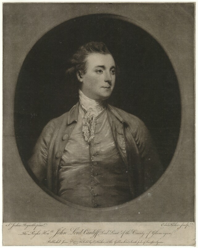 John Stuart, 1st Marquess of Bute, by and published by Edward Fisher, after  Sir Joshua Reynolds, published 1777 - NPG D32465 - © National Portrait Gallery, London