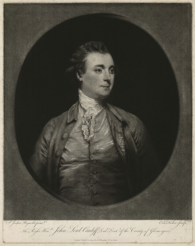John Stuart, 1st Marquess of Bute, by Edward Fisher, published by  William Humphrey, after  Sir Joshua Reynolds, published 1783 - NPG D32467 - © National Portrait Gallery, London