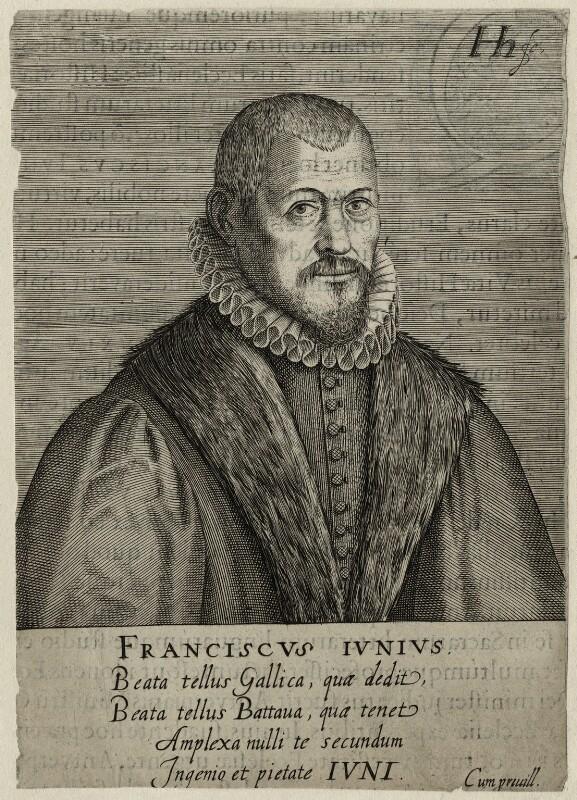 Franciscus Junius the Elder, by Hendrik Hondius (Hond), mid 17th century - NPG D28622 - © National Portrait Gallery, London