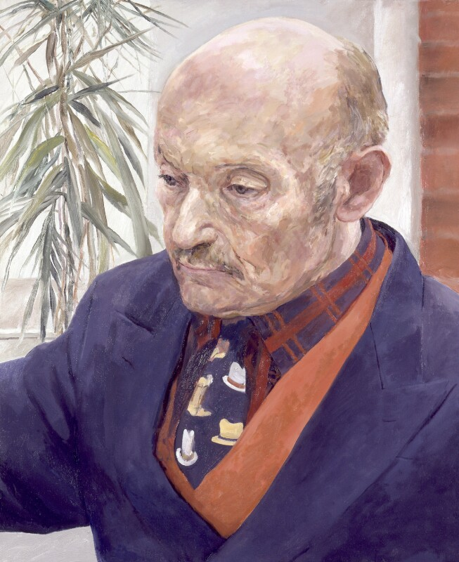 Sir Sigmund Sternberg, by Valerie Wiffen, 1998 - NPG 6500 - © National Portrait Gallery, London