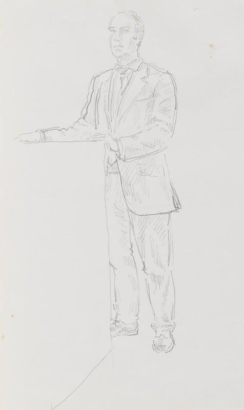 Charles Robert Saumarez Smith, by John Lessore, 1999 - NPG 6501(4) - © National Portrait Gallery, London