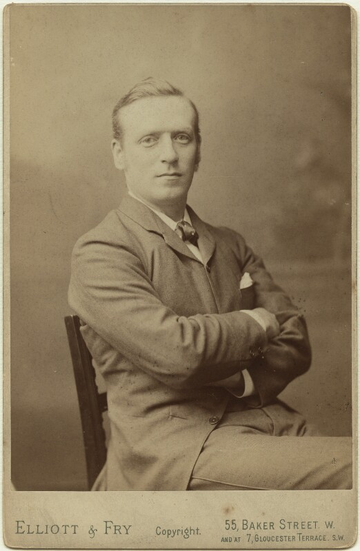 Herbert Henry Asquith, 1st Earl of Oxford and Asquith, by Elliott & Fry, 1892 - NPG x12637 - © National Portrait Gallery, London