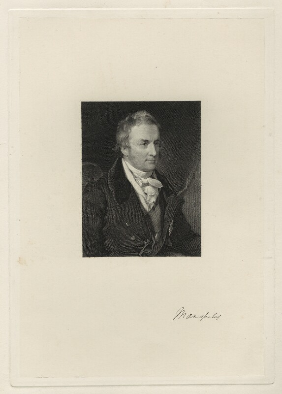 David William Murray, 3rd Earl of Mansfield, after Sir William Charles Ross, mid 19th century - NPG D32474 - © National Portrait Gallery, London