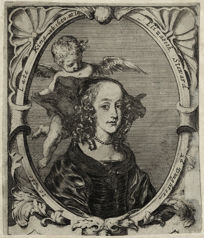 Princess Elizabeth, after Unknown artist, mid 17th century - NPG D28654 - © National Portrait Gallery, London