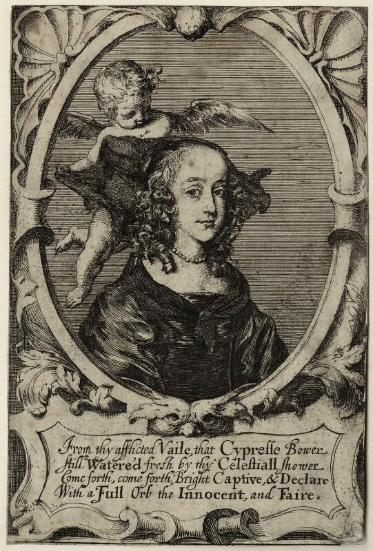 Princess Elizabeth, possibly by Richard Gaywood, published 1649 - NPG D28656 - © National Portrait Gallery, London