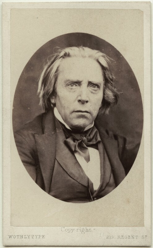 Douglas William Jerrold, by United Association of Photography Limited, after  Hugh Welch Diamond, 1865 (circa 1856) - NPG Ax7507 - © National Portrait Gallery, London