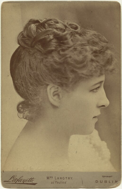 Lillie Langtry as Pauline in 'The Lady of Lyons', by Lafayette (Lafayette Ltd), 1884-1885 - NPG x76410 - © National Portrait Gallery, London