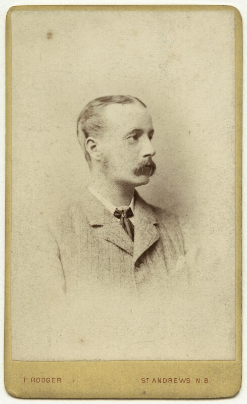 George John Carnegie, 9th Earl of Northesk, by Thomas Rodger, 1880s - NPG x1698 - © National Portrait Gallery, London
