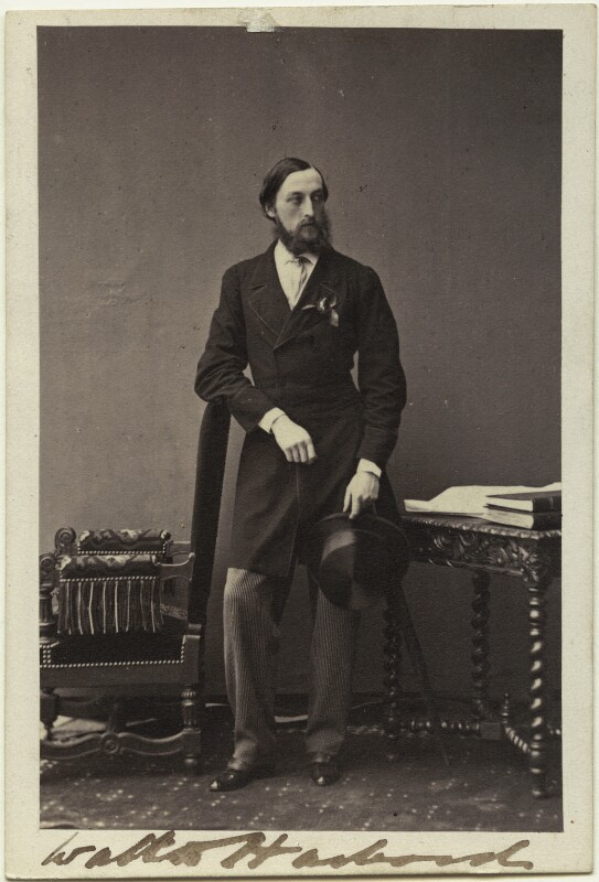 Hon. Walter Harbord, by Camille Silvy, 1860 - NPG Ax87086 - © National Portrait Gallery, London