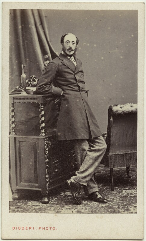 Henry Wyndham, 2nd Baron Leconfield, by Disdéri, circa 1860 - NPG Ax77075 - © National Portrait Gallery, London