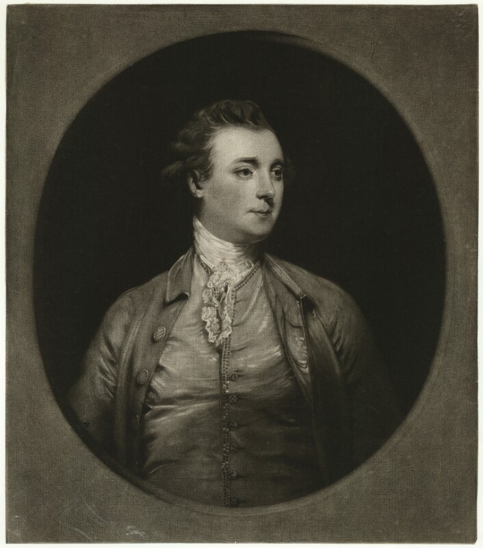 John Stuart, 1st Marquess of Bute, by and published by Edward Fisher, after  Sir Joshua Reynolds, published 1777 - NPG D32476 - © National Portrait Gallery, London