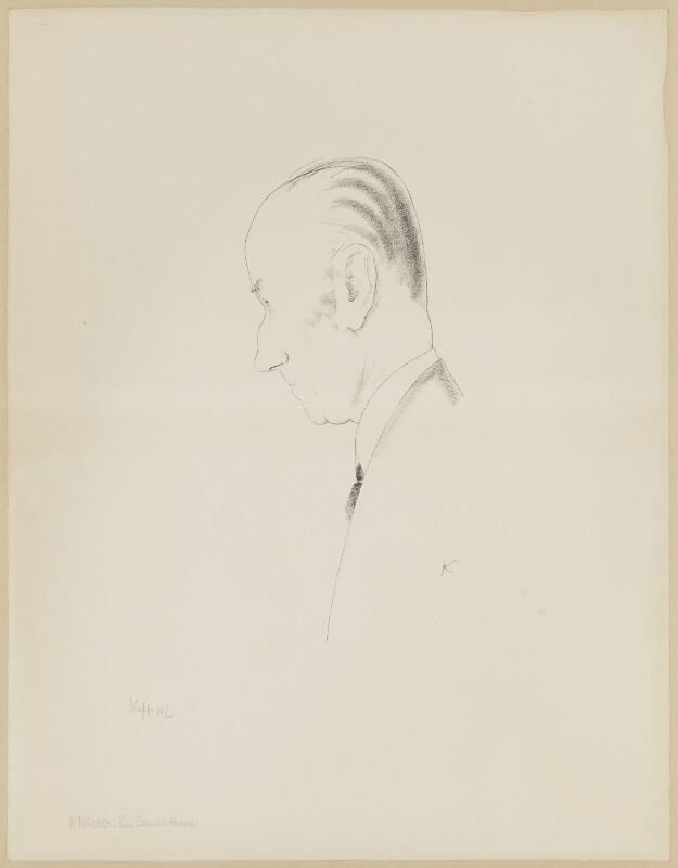 Samuel John Gurney Hoare, Viscount Templewood, by Edmond Xavier Kapp, 1933-1936 - NPG D32485 - © estate of Edmond Xavier Kapp
