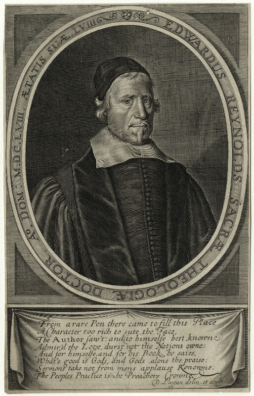 Edward Reynolds, by David Loggan, published 1658 - NPG D28820 - © National Portrait Gallery, London