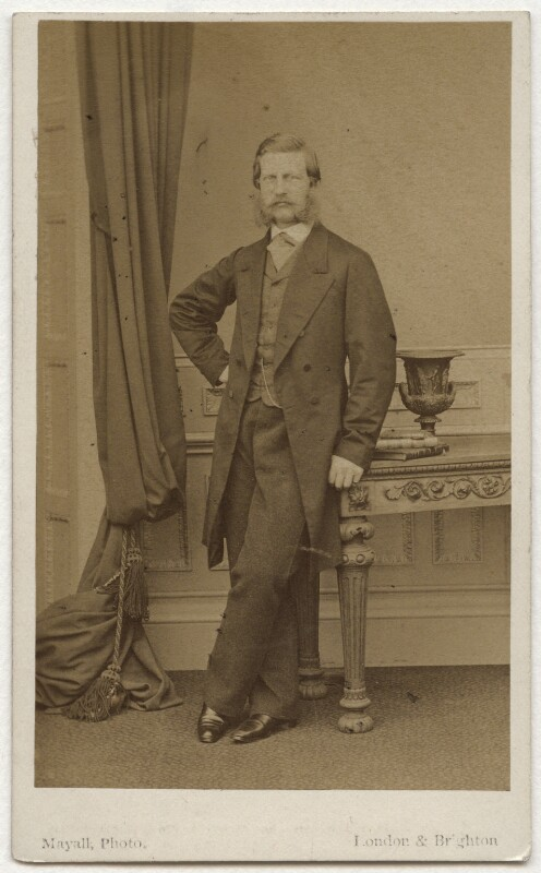 Frederick III, Emperor of Germany and King of Prussia, by John Jabez Edwin Mayall, published by  A. Marion, Son & Co, 1863 - NPG x36376 - © National Portrait Gallery, London