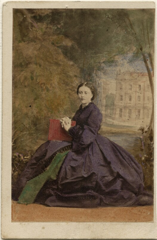 Victoria, Empress of Germany and Queen of Prussia, by Camille Silvy, 2 July 1861 - NPG Ax46707 - © National Portrait Gallery, London