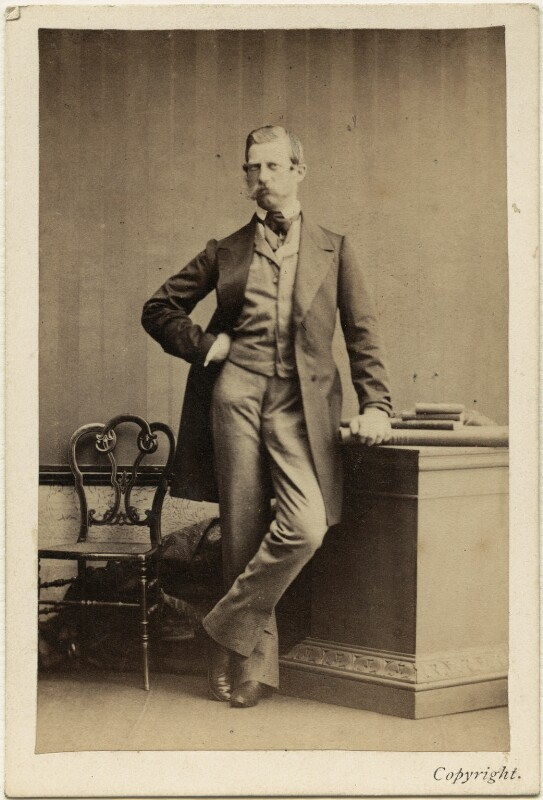 Frederick III, Emperor of Germany and King of Prussia, by Camille Silvy, 1866 (2 July 1861) - NPG Ax46796 - © National Portrait Gallery, London