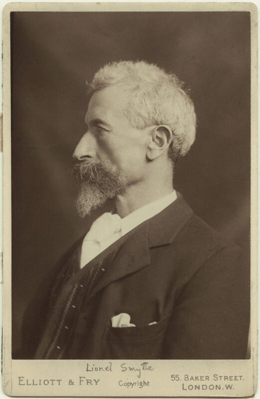 Lionel Percy Smythe, by Elliott & Fry, late 1890s - NPG x22632 - © National Portrait Gallery, London