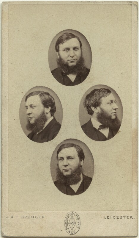James Orrock, by John & Thomas Spencer, mid-late 1860s - NPG x4973 - © National Portrait Gallery, London